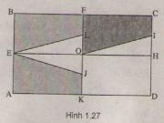 Bài 1,2,3 trang 23,24 SGK hình học 11: Khái niệm về phép dời hình và hai hình bằng nhau