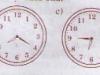 Bài luyện tập nhân số có hai chữ số, Xem đồng hồ trang 23