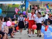 Đề thi học kì 1 lớp 1 môn Tiếng Việt trường tiểu học Kim An