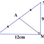 Đề kiểm tra 1 tiết hình học chương 1 lớp 8 tháng 9/2015