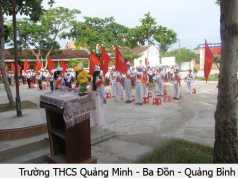 Đề KSCL đầu năm văn 9 năm 2015 trường THCS Quảng Minh