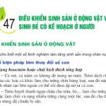 [Sinh 11 trang 186]: Điều khiển sinh sản ở động vật và sinh đẻ có kế hoạch ở người