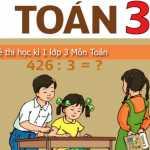 Đề học kì 1 môn Toán, Tiếng Việt lớp 3 có đáp án – trường TH Bình Minh A năm 2015