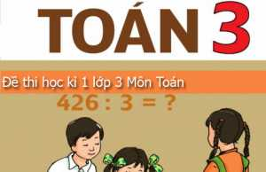 Tham khảo đề thi học kì 1 lớp 3 môn Toán có đáp án – TH Phú Lâm năm 2016