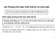 Giải bài 6,7, 8,9 trang 9,10 SGK Toán 8 tập 2: Phương trình bậc nhất một ẩn và cách giải