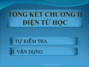 Bài 1,2,3 ,4,5,6 ,7,8,9 ,10,11, 12,13 trang 105,106 Lý lớp 9: Tổng kết chương 2