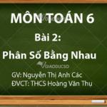 Bài 6,7,8 ,9,10 trang 8,9 sách Toán 6 tập 2: Phân số bằng nhau
