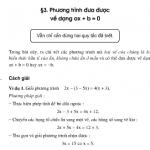 Giải bài 10,11, 12,13 trang 12,13 SGK Toán 8 tập 2: Phương trình đưa được về dạng ax + b = 0