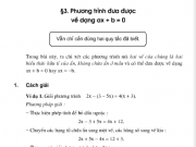 Bài 14,15,16 ,17,18,19 ,20 trang 13,14 sách Toán 8 tập 2: Luyện tập – Phương trình đưa được về dạng ax + b = 0
