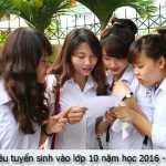Chỉ tiêu tuyển sinh vào lớp 10 năm học 2016-2017 Hà Nội