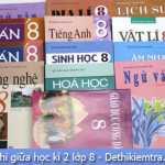 [THCS Hồng Thá]kiểm tra chất lượng toán, Anh 8 giữa kì 2