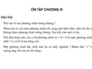 Bài ôn tập chương 3 Đại số toán 8 tập 2: Bài 50,51,52, 53,54,55, 56 trang 33, 34