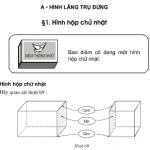 Bài 1,2,3,4 trang 96,97 Toán 8 tập 2: Hình hộp chữ nhật