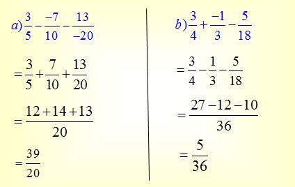 Đáp án câu a, b