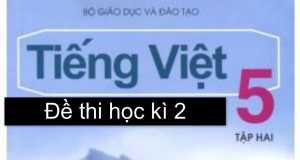 Xem ngay đề thi cuối kì 2 môn Tiếng Việt lớp 5 – TH Trần Hưng Đạo năm 2017