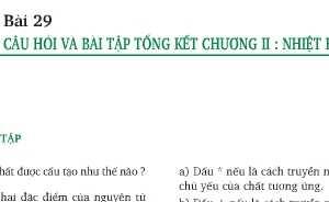 Giải bài tập trang 101,102 SGK Lý 8: Câu hỏi và bài tập tổng kết chương II: Nhiệt học