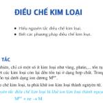 Giải bài 1,2,3, 4,5 trang 98 SGK Hóa 12: Điều chế kim loại