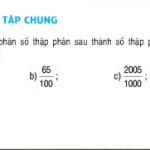 Bài tập 1,2,3,4,5 trang 48,49 Toán lớp 5: Tiết 45 (Luyện tập chung)