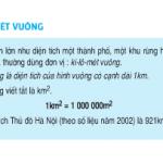 Bài 1,2,3,4 trang 100 Toán 4: Ki-lô-mét vuông