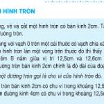 Bài 1,2,3 trang 98 Toán 5: Chu vi hình tròn
