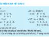 Toán 4 tiết 87 – Dấu hiệu chia hết cho 3