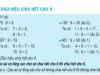 Bài tập dấu hiệu chia hết cho 9 trang 97