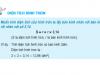 Giải bài 1,2,3 trang 100 SGK Toán lớp 5: Diện tích hình tròn