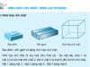 Bài 1,2,3 trang 108 Toán 5: Hình hộp chữ nhật, hình lập phương