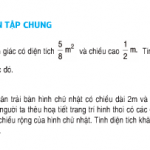 Bài 1,2,3 trang 106 SGK Toán 5: Luyện tập chung về tính diện tích