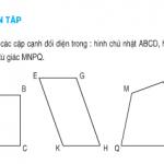 Giải bài 1,2,3,4 trang 104,105 SGK Toán 4: Luyện tập diện tích hình bình hành