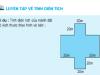 Giải bài 1,2 trang 104 SGK Toán 5: Luyện tập về tính diện tích
