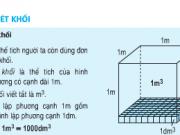 Giải bài 1,2,3 trang 119 Toán lớp 5: Luyện tập mét khối