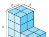Bài 1,2,3 Toán 5 trang 124, 125 : Luyện tập chung về tính thể tích (tiếp theo)