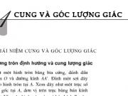 Bài 1,2,3 ,4,5,6,7 trang 140 SGK Đại số 10: Cung và góc lượng giác