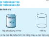 Bài  tập 1,2,3 trang 126 SGK Toán 5: Giới thiệu hình trụ – giới thiệu hình cầu