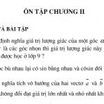 Bài ôn tập chương 2 hình học 10: Bài 1,2,3,4, 5,6,7 ,8,9,10,11 trang 62
