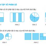 Giải bài 1,2,3,4,5 trang 148,149 SGK Toán 5: Ôn tập về phân số