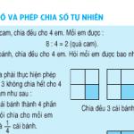 Bài tập 1,2,3 trang 108 SGK Toán lớp 4: Phân số và phép chia số tự nhiên