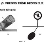Bài 1,2,3,4,5 trang 88 Hình học lớp 10: Phương trình đường elip