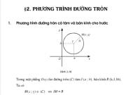 Bài 1,2,3,4, 5,6 trang 83,84 hình học 10: Phương trình đường tròn