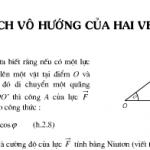 Bài 1,2,3,4, 5,6,7 trang 45,46 SGK hình học 10: Tích vô hướng của hai vectơ