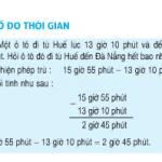 Bài 1,2,3 trang 133 SGK Toán 5: Trừ số đo thời gian
