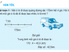 Giải bài 1,2,3,4 trang 139,140 Toán lớp 5: Luyện tập vận tốc