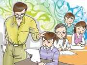 Miêu tả lại hình ảnh thầy giáo trong giây phút xúc động gặp lại người học trò của mình sau nhiều năm xa cách
