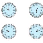 Ôn tập về đo thời gian – Bài tập 1,2,3,4 trang 156,157 Toán 5
