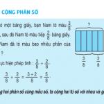 Phép cộng phân số (tiếp theo) Toán 4 bài tập trang 127