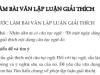 Cách làm bài văn lập luận giải thích trang 84 Ngữ Văn 7 tập 2