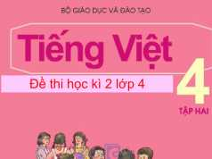 Kiểm tra học kì 2 Tiếng Việt 4: Thầy giáo cho kiểm tra Toán đầu năm học nhằm mục đích gì?