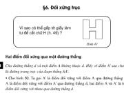 Giải bài 39,40 ,41,42 trang 88,89 Toán 8 tập 1: Luyện tập đối xứng trục