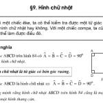 Bài 58, 59, 60, 61 trang 99 Toán lớp 8 tập 1: Hình chữ nhật
